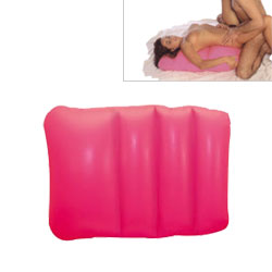 Pink Inflatable Love Pillow
