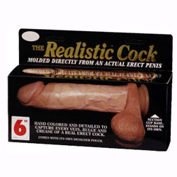 The Realistic Cock 6inch