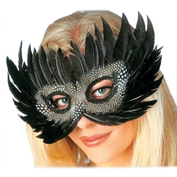 Black Exotic Mask