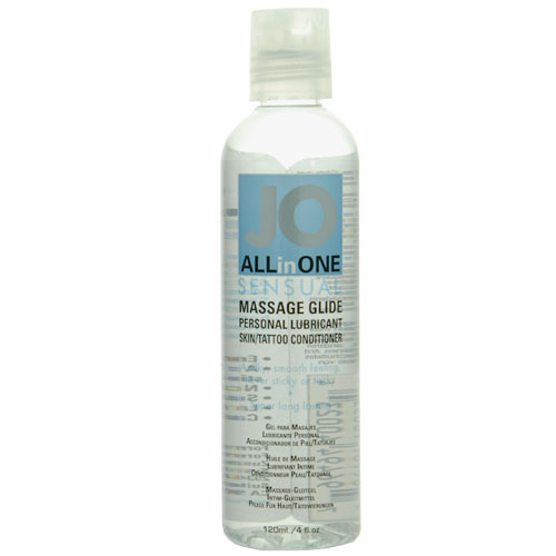 System Jo Massage Oil Unscented